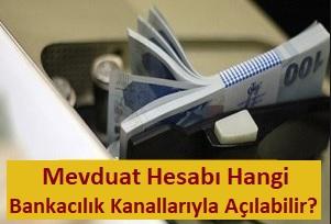 Garanti Bankası hesap açma için gerekli belgeler