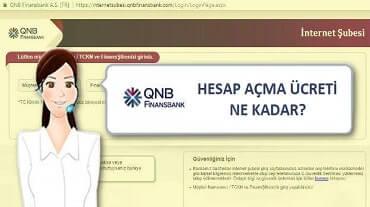 Finansbank hesap açma ücreti