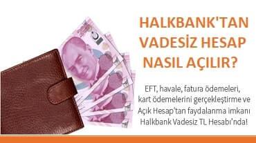 Halkbank hesap açma başvurusu