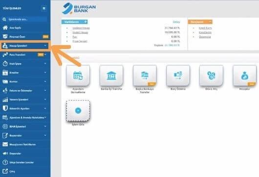 Burganbank hesap açma internetten