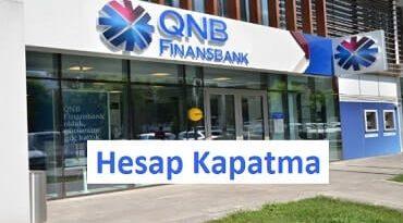 Finansbank hesap kapatma