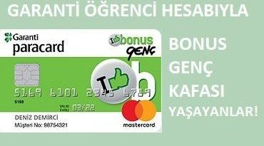 Garanti Bankası 18 yaş altı hesap açma