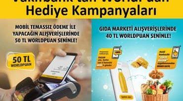 Vakıfbank Worldpuan Hediye kampanyası