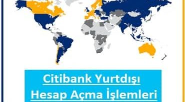 Citibank hesap açma